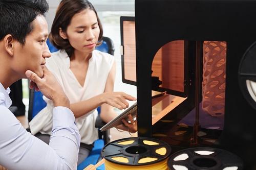son imprimante 3D école